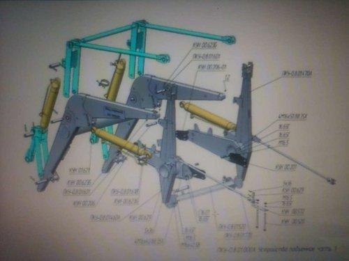 Схема подключения пку на мтз 82